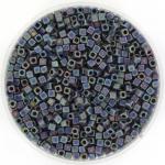miyuki cubes 1.8mm - opaque matte ab black