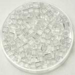 miyuki cubes 3mm - transparant crystal