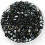 miyuki cubes 3mm - silverlined montana