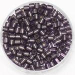 miyuki cubes 3x3 mm - silverlined matte amethyst
