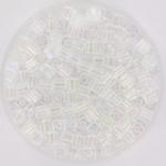 miyuki cubes 3mm - transparant ab crystal