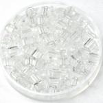 miyuki cubes 4mm - transparant crystal