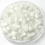 miyuki cubes 4x4 mm - opaque white