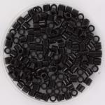 miyuki delica's 8/0 - opaque black