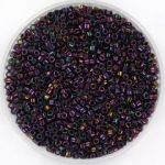 miyuki delica's 11/0 - metallic iris dark plum