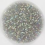 miyuki delica's 11/0 - transparent gold luster gray