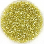 miyuki delica's 11/0 - transparant luster golden olive