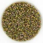 miyuki delica's 11/0 - opaque luster golden olive