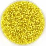 miyuki delica's 11/0 - silverlined yellow