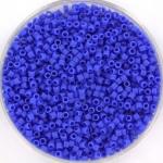 miyuki delica's 11/0 - opaque matte cyan blue