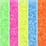 miyuki delica's 11/0 - neon fest