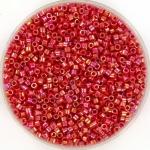 miyuki delica's 11/0 - opaque ab red