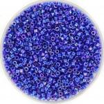 miyuki delica's 11/0 - opaque ab cobalt