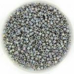 miyuki delica's 11/0 - opaque ab gray