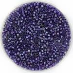 miyuki delica's 11/0 - sparkling purple lined amethyst ab
