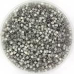 miyuki delica's 11/0 - silk satin dyed smoke gray