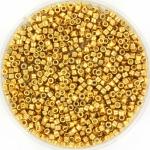 miyuki delica's 11/0 - duracoat galvanized gold