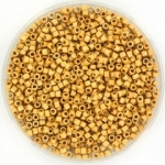 miyuki delica's 11/0 - duracoat galvanized matte gold