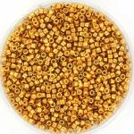 miyuki delica's 11/0 - duracoat galvanized yellow gold