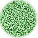 miyuki delica's 11/0 - duracoat galvanized dark mint green