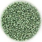miyuki delica's 11/0 - duracoat galvanized sea green