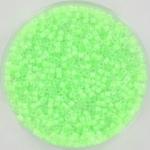 miyuki delica's 11/0 - luminous mint green