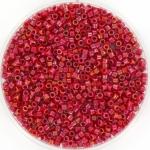 miyuki delica's 11/0 - opaque luster red