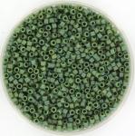 miyuki delica's 11/0 - opaque glazed frosted rainbow shamrock