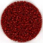 miyuki delica's 11/0 - duracoat opaque dyed garnet red