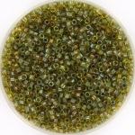 miyuki delica's 11/0 - fancy lined lime