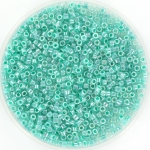 miyuki delica's 11/0 - ceylon aqua green