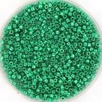 miyuki delica's 11/0 - duracoat galvanized aqua green