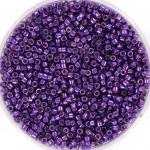 miyuki delica's 11/0 - duracoat galvanized purple orchid
