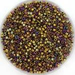 miyuki delica's 11/0 - metallic iris golden olive