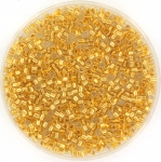 miyuki delica's 11/0 - 24kt gold lined crystal