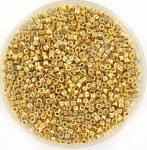 miyuki delica's 11/0 - 24kt gold light plated