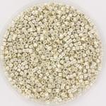 miyuki delica's 11/0 - galvanized silver