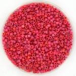 miyuki delica's 11/0 - opaque matte luster red