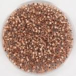 miyuki delica's 11/0 - copper lined crystal