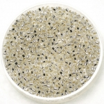 miyuki delica's 11/0 - silverlined crystal