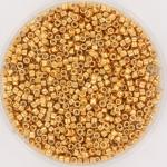 miyuki delica's 11/0 - galvanized yellow gold