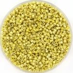 miyuki delica's 11/0 - galvanized yellow