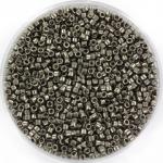 miyuki delica's 11/0 - galvanized dark gray