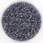 miyuki delica's 11/0 - amethyst lined crystal ab