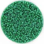 miyuki delica's 11/0 - opaque dyed green