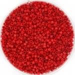 miyuki delica's 11/0 - opaque red
