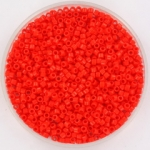 miyuki delica's 11/0 - opaque vermillion red