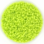 miyuki delica's 11/0 - opaque chartreuse
