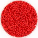 miyuki delica's 11/0 - opaque matte red