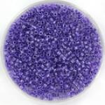 miyuki delica's 11/0 - sparkling purple lined crystal